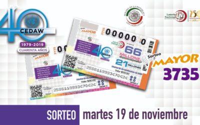 Prieto en lugar de Cárdenas y Margarita a la Lotería