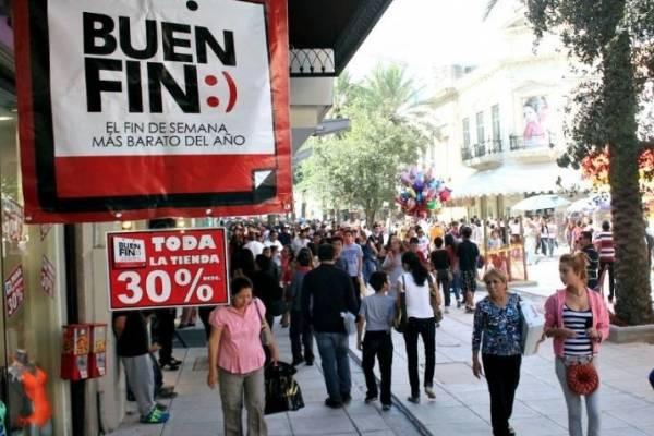 Prevén ventas por 120 mil mdp en el Buen Fin