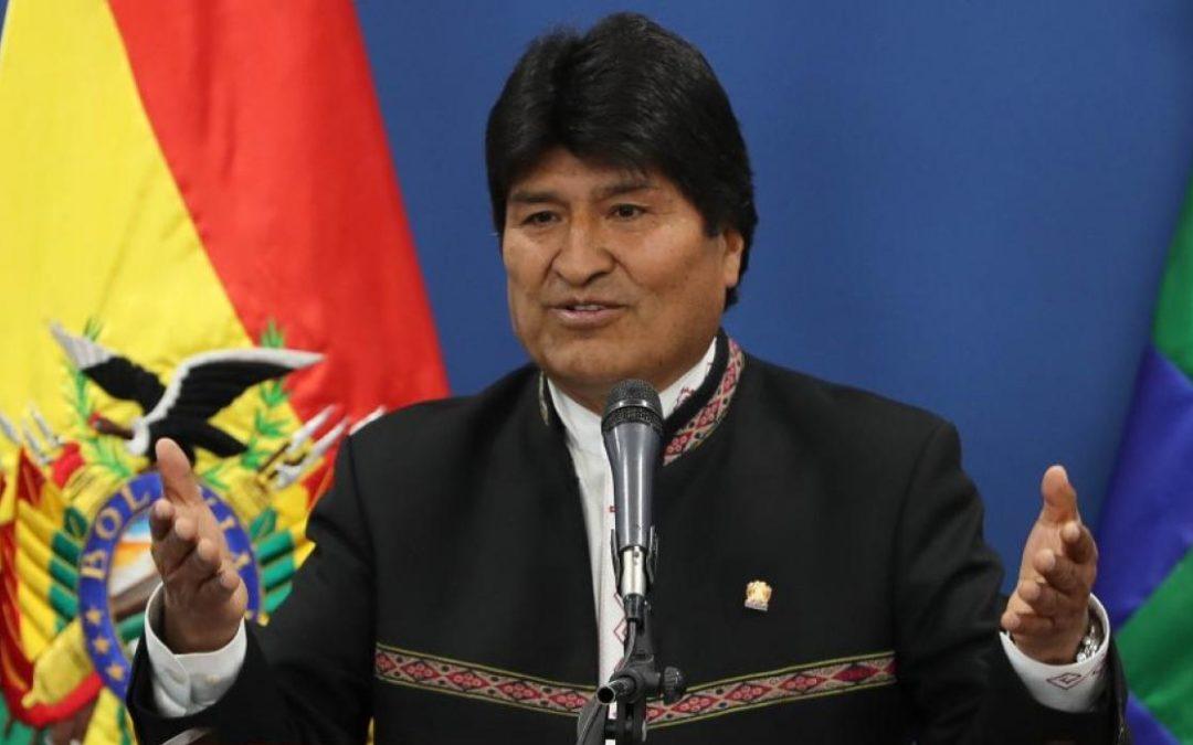 Renuncia Presidente de Bolivia Evo Morales