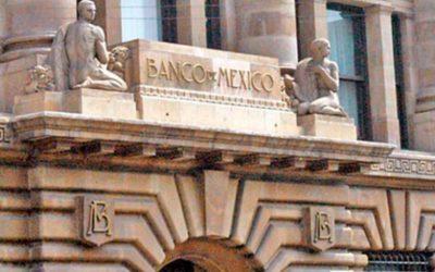 Reservas internacionales suben a 182 mil 402 mdd: Banxico
