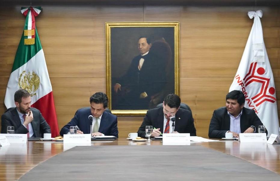 Actualizan IMSS e Infonavit convenio de colaboración para evitar evasión fiscal