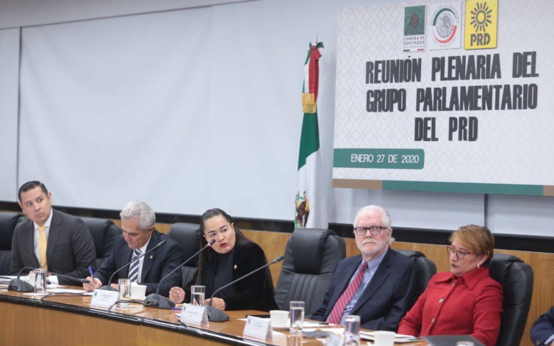 Arrancan legisladores del PRD su Plenaria. Van por una agenda más allá de la presidencial