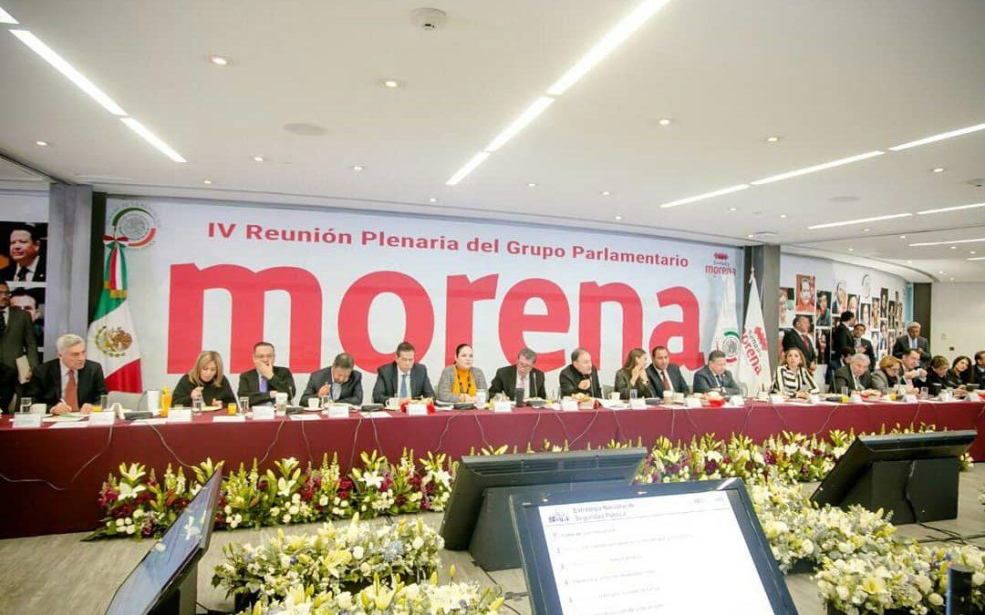 Arranca Plenaria de senadores de MORENA