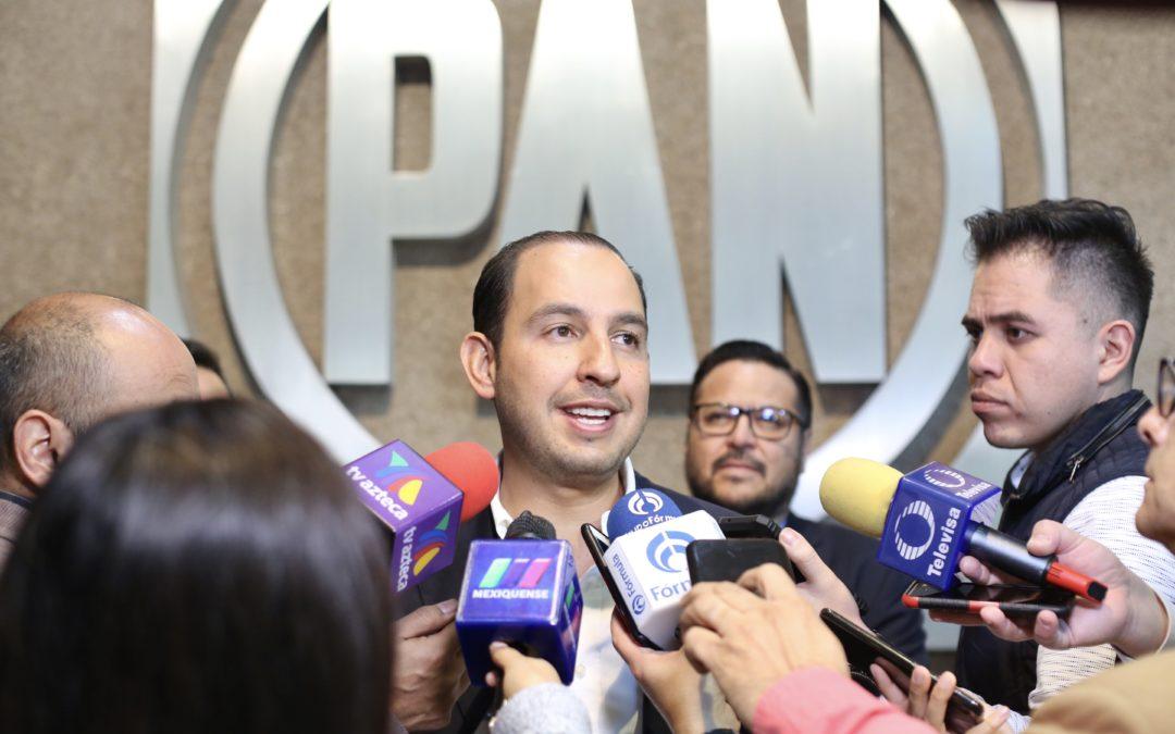 Suspender muro y proteger a dreamers, buenas señales de Biden: Marko Cortés