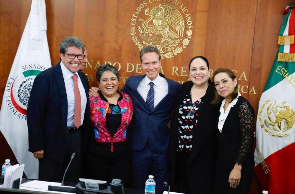 Respalda Jucopo del Senado  a Buenrostro