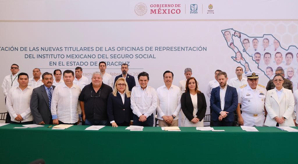 Toman posesión Titulares de oficinas del IMSS en Veracruz