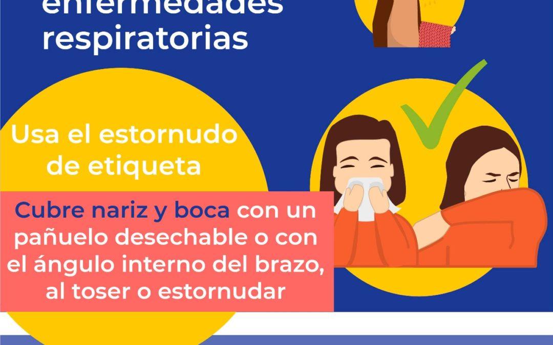 Cuidate de enfermedades  respiratorias