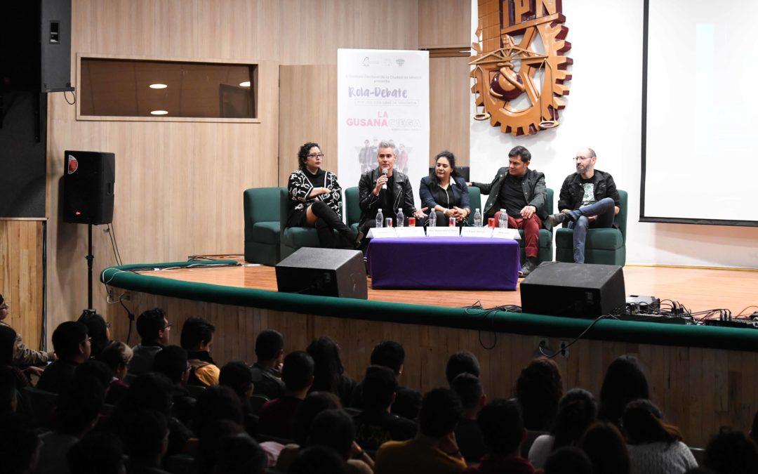 Abre IECM diálogo con estudiantes de ESIME-IPN sobre violencia de género