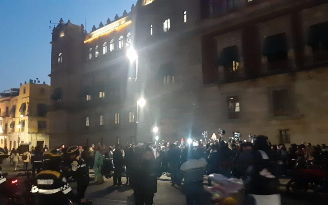 No estoy metiendo la cabeza en la arena en caso de feminicidio.- López Obrador