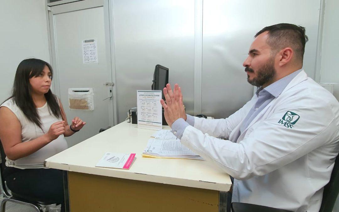 Implementa IMSS filtro sanitario para prevenir contagio en embarazadas