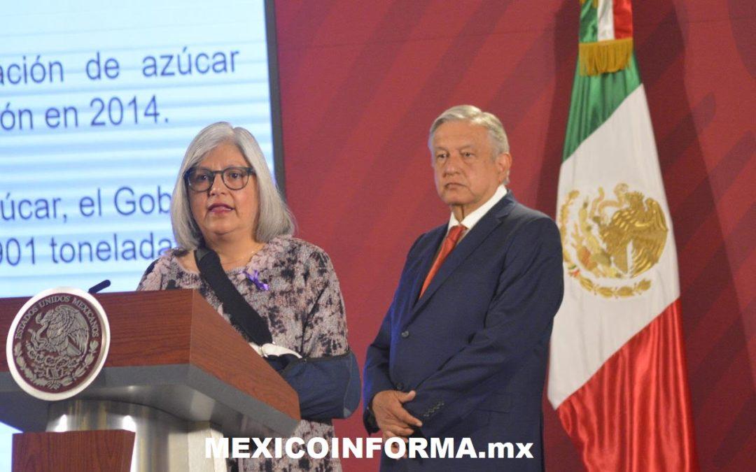 Hay reservas de básicos para 100 días: Graciela Márquez