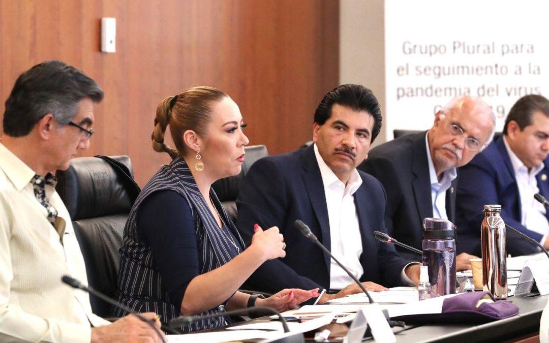 Participa PAN en reunión de trabajo por  Covid-19