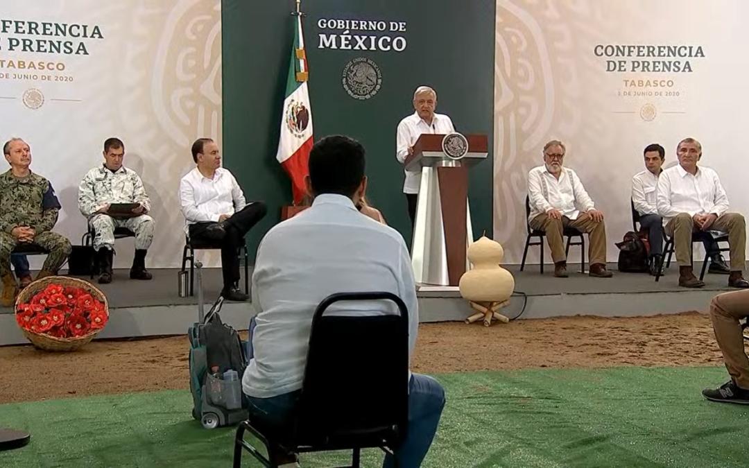 Que no se retracte el gobernador Alfaro, debió cuidar sus palabras.-López Obrador