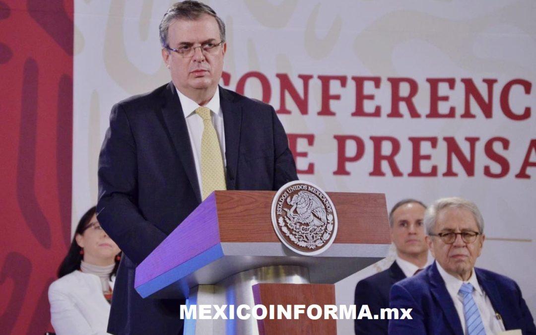 México ha recibido 25 vuelos de China y 8 de EU con insumos médicos para COVID-19: Ebrard