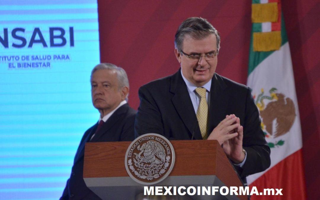 Por primera vez México va con licitación internacional para medicamentos: Ebrard