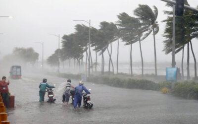 Lluvias fuertes en Campeche, Chiapas, Q. Roo, Tabasco y Yucatán