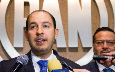Le da la bienvenida Marko Cortés a Anaya al PAN