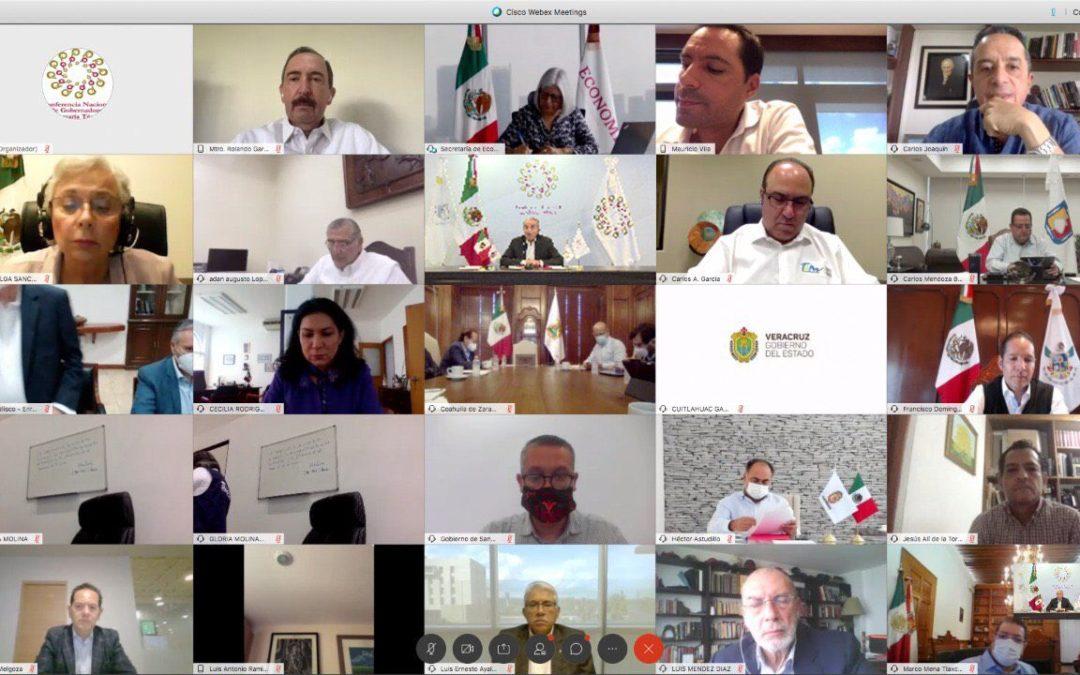 Analizan Segob y gobernadores semáforo epidemiológico por Covid