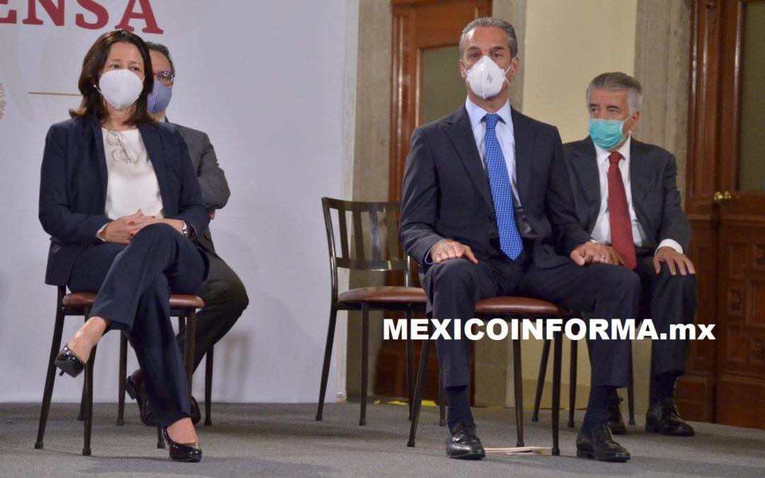 Hay disponibilidad de recursos para fabricar la vacuna: Carlos Slim Domit
