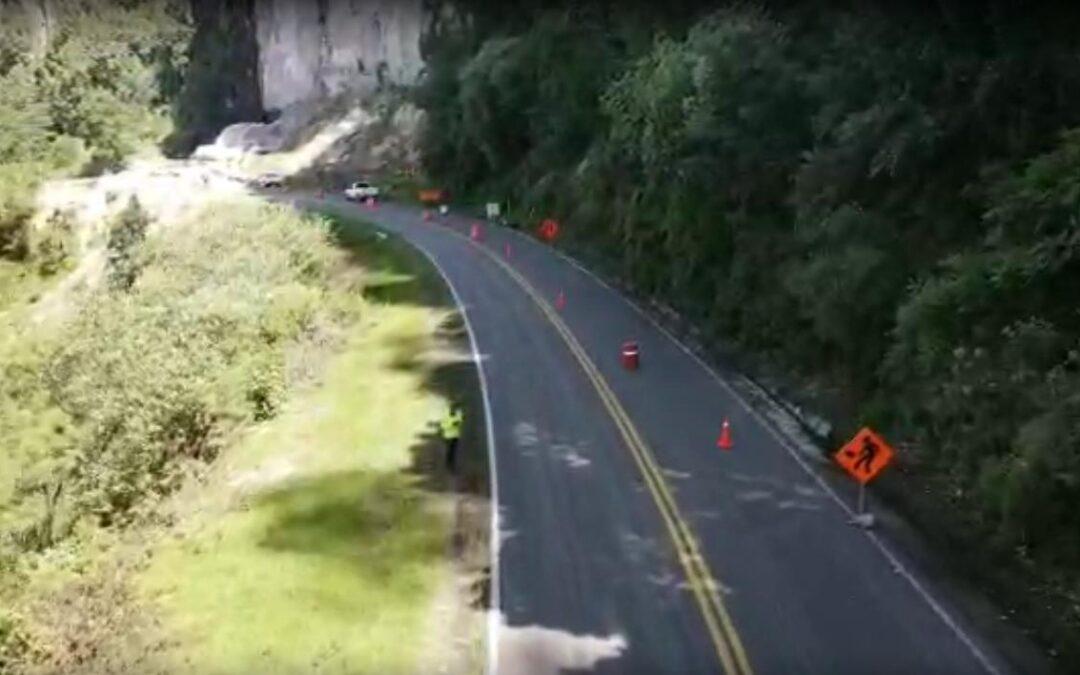 Reparan carretera Zihuatanejo- Cd. Altamirano, en Gro.