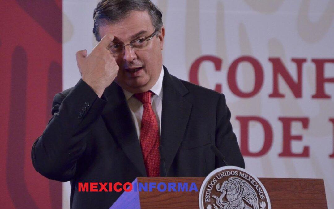 Convicciones «son una vacuna contra la mezquindad y la calumnia», responde Ebrard a Muñoz Ledo