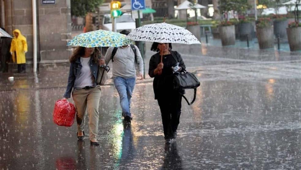 Se prevén lluvias ligeras por la noche al sur de CDMX