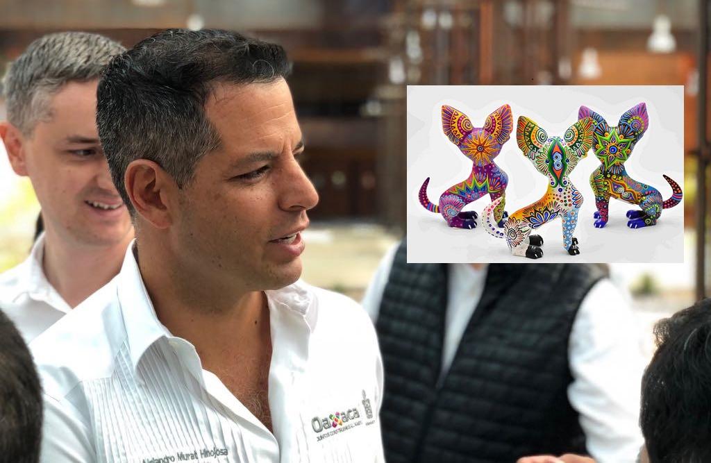 Recibe Oaxaca distintivo para que alebrijes no sean plagiados