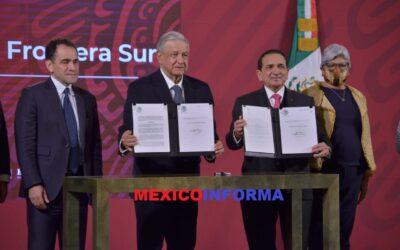 Anuncia AMLO que Chetumal y frontera norte disminuye 8% IVA