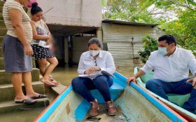 98 localidades tabasqueñas serán censadas por inundaciones