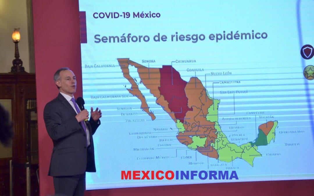 CDMX la zona mas difícil de control epidémico.- Gatell