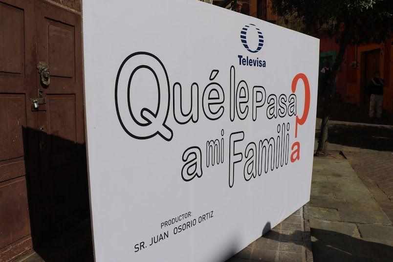 Televisa graba telenovela ¿Qué le pasa a mi familia?, en  Guanajuato