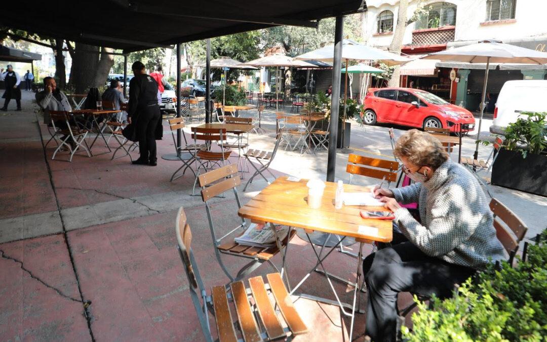 Supervisan a restaurantes en Miguel Hidalgo