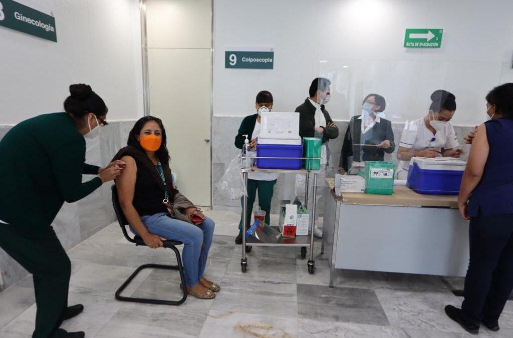 Arranca martes vacunación en Alvaro Obregón, Benito Juárez, Cuautémoc