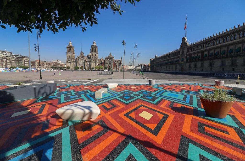 Mejoran espacios públicos con el Zócalo Peatonal