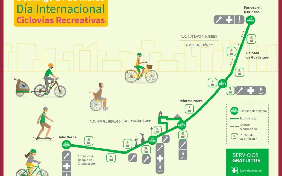 Regresa  Paseo Dominical «Muévete en Bici»