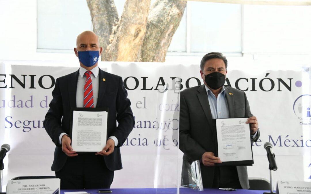Acuerdo IECM y Consejo Ciudadano  para garantizar comicios íntegros y sin violencia