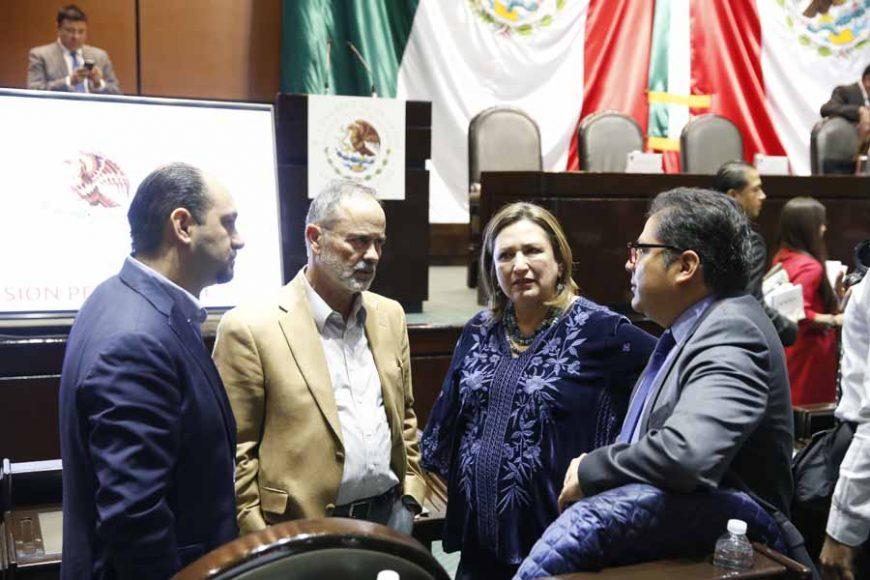 Denuncia PAN albazo de Morena para aprobar ley de la industria  eléctrica