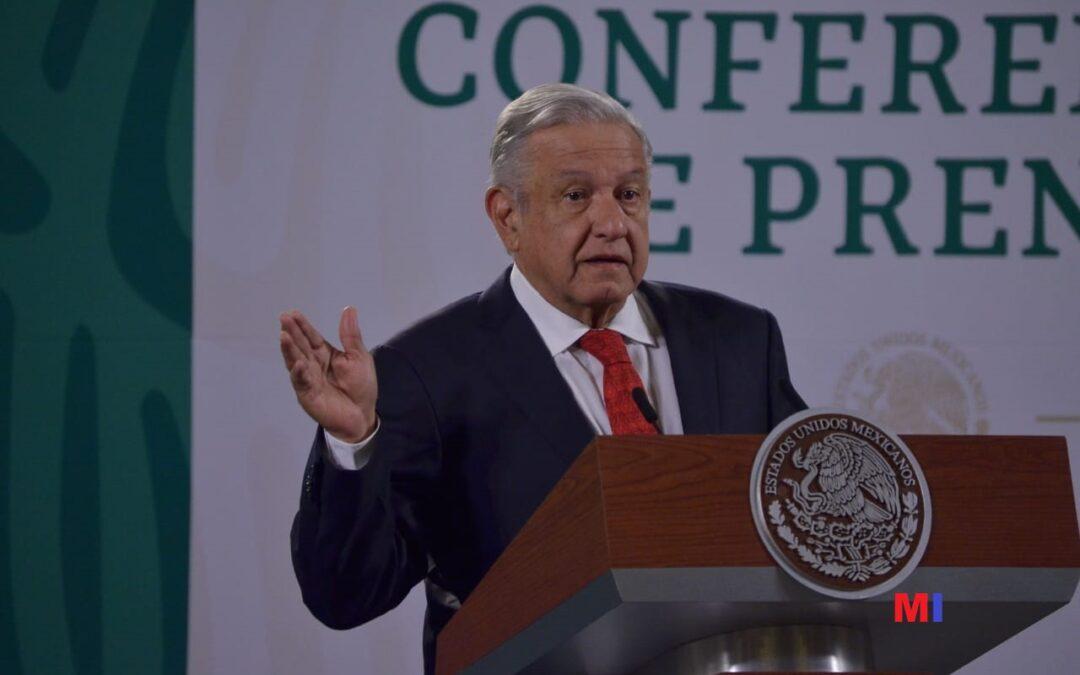 Denuncia el Presidente detención de tráiler en San Luis Potosí con despensas para campañas