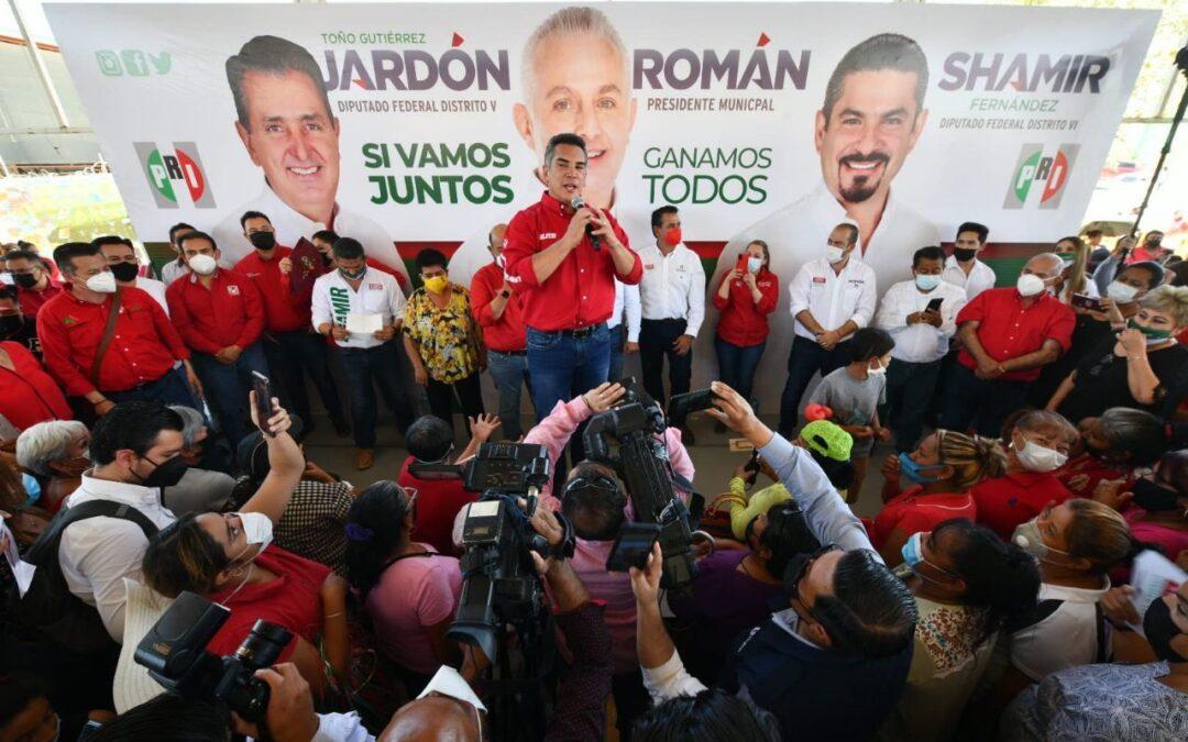 Alito del PRI: no dejar llegar a Morena porque no saben  y no pueden