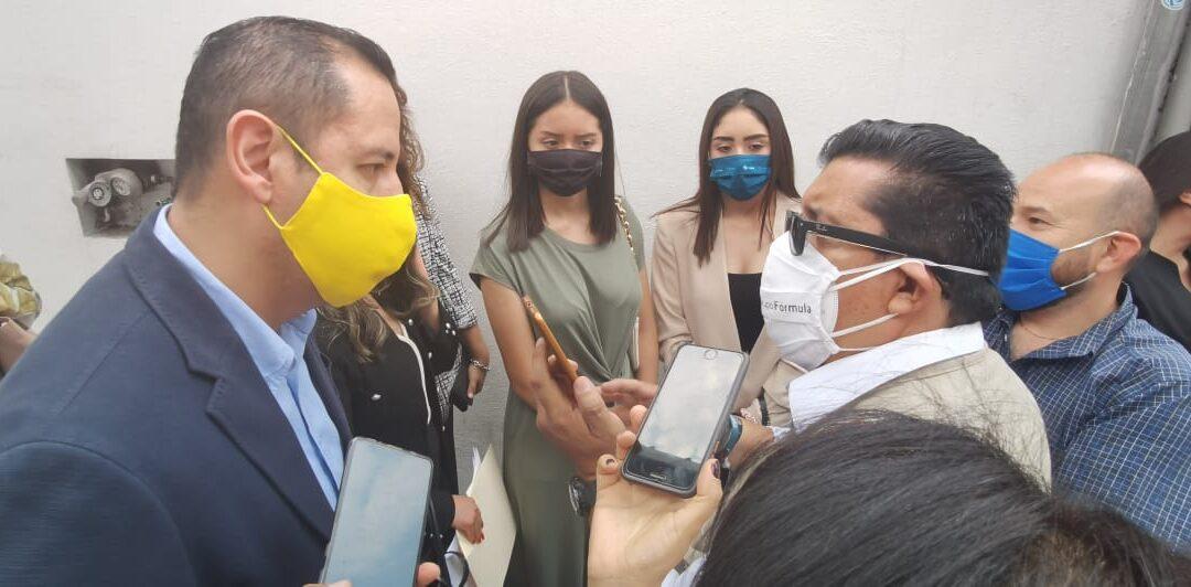 Reprobable las actitudes golpistas de Salgado y Delgado contra INE: PRD