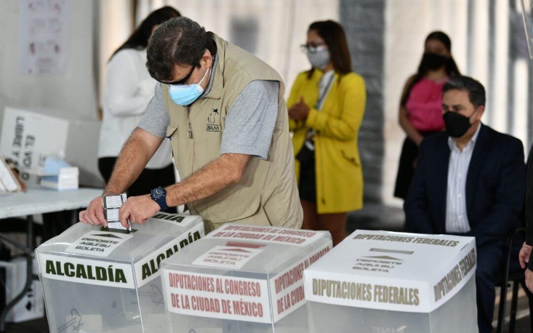 Ante pandemia, busca IECM generar confianza en elecciones