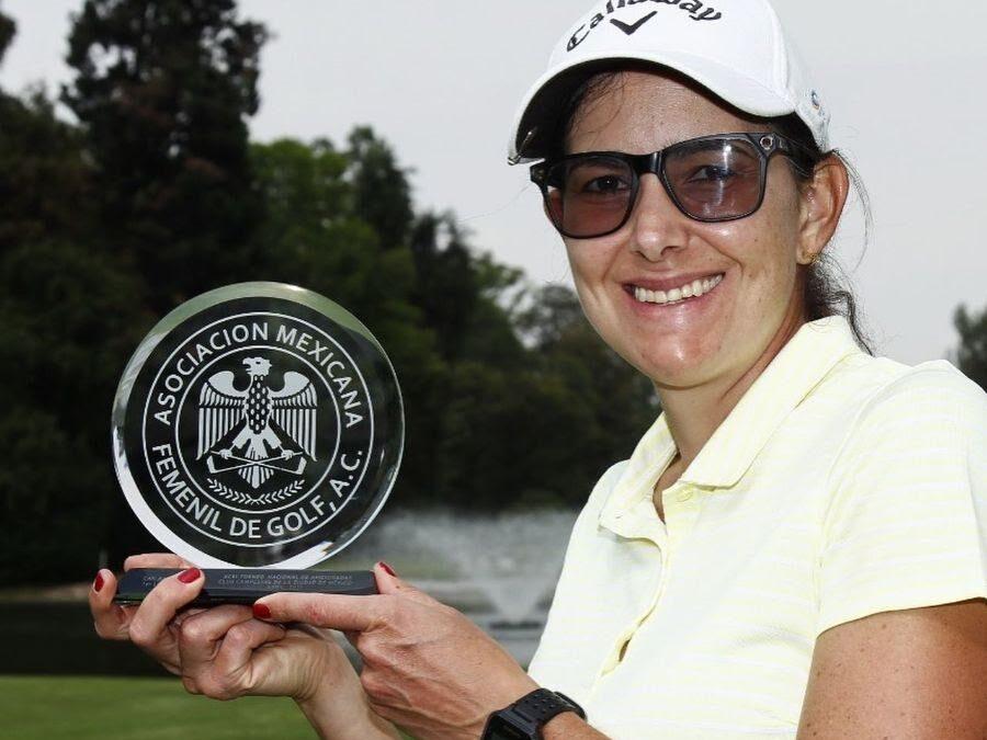 Isabella Jiménez logró el primer lugar del XCVI Torneo de Golf  Femenil