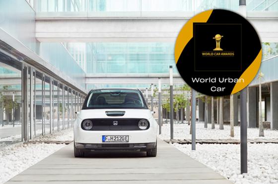 Honda e, nombrado Mejor Auto Urbano en World Car Awards 2021