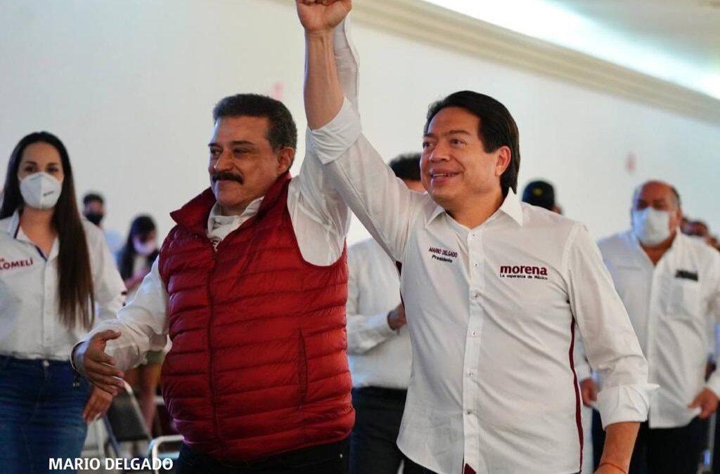 Guadalajara dice sí a Carlos Lomelí: Mario Delgado