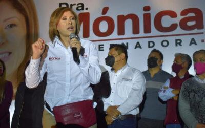 Solo multan y no quitan registro a Mónica Rangel de Morena en SLP