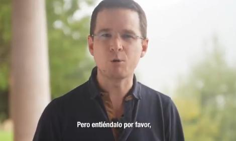 Basta ya de dividir a México: Anaya a AMLO