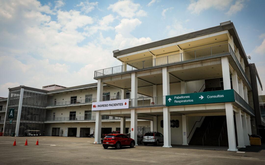 Autódromo Hermanos Rodríguez dejará de funcionar como hospital Covid