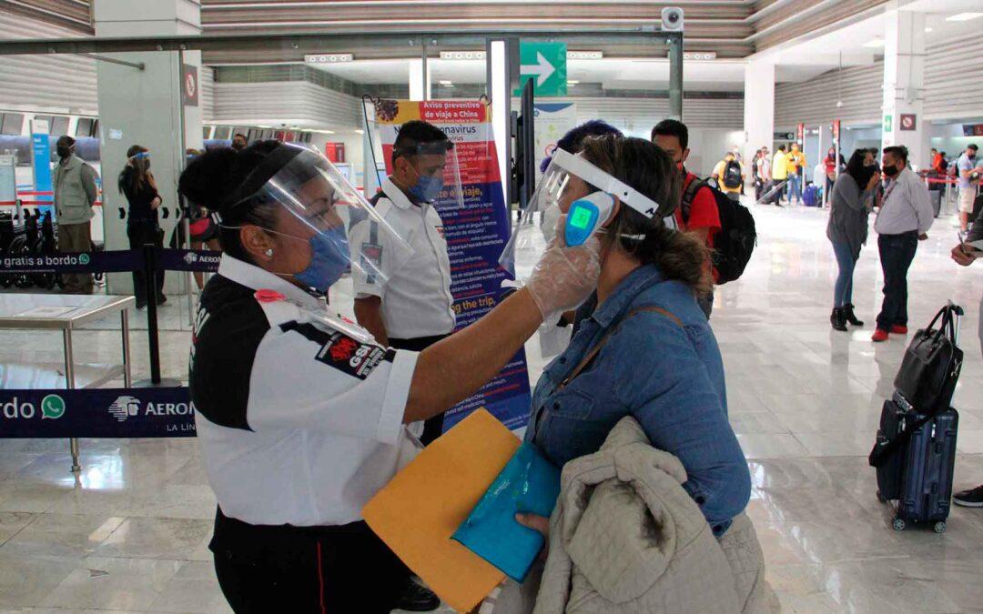 Piden verificar protocolos sanitarios de Covid-19 en aeropuertos
