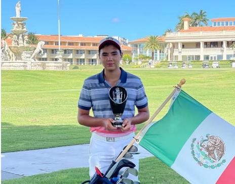 Golfistas mexicanos infantiles-juveniles destacan en torneos internacionales