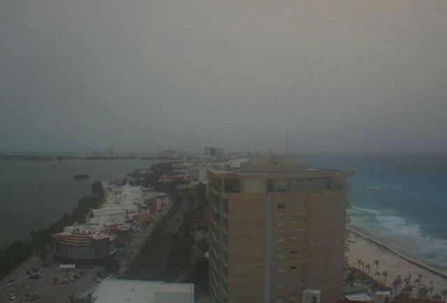 Nube de polvo del Sahara pasará sobre la Península de Yucatán esta semana